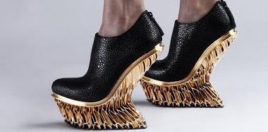 3D打印不能规模化生产?新款3D打印鞋子Mutatio就行!