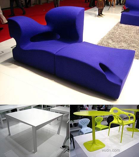 Kazuhiko Tomita椅子 Supernatural armchair and table  设计Ross LovegroveForUse椅子ForUse Twist 餐桌上一页更多请点击2007米兰设计周(家具展)专题