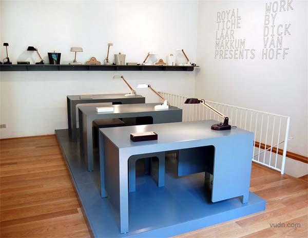荷兰陶瓷公司Royal Tichelaar Makkum展位,迪克・范・霍夫设计