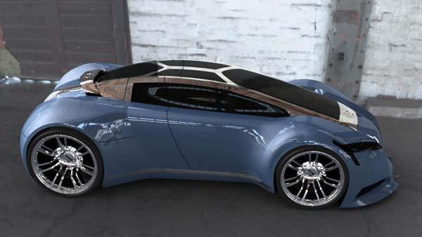 一位英国设计师设计的volvo TCC概念车,当然百分之99.99的可能性不会生产,来自考文垂大学.....
