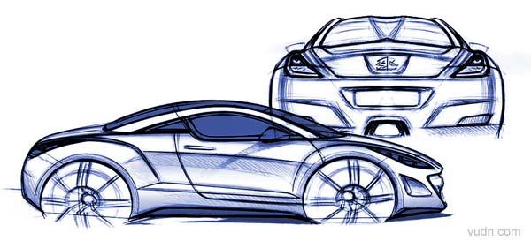 法国标致汽车将在今年9月份的法兰克福车展上展出308 RC Z概念车(Peugeot 308 RC Z Concept )标致308 RC Z显然将竞争目标锁定了奥迪TT,但其外形却要比全新TT更加张扬和具有侵略性;标致308 RC Z的车顶非常的特别,
