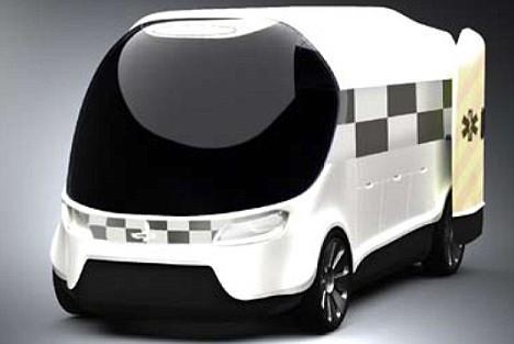 英国设计未来救护车配邦德式弹射座椅(组图)
