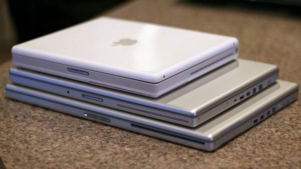 old macbook stack