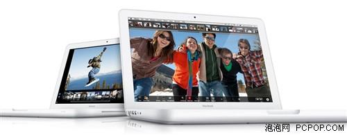 北京时间10月21日凌晨: 苹果官方发布新版MacBook,和之前发布的13.3英寸MacBook Pro一样,整个机身采用一体式设计,不同的是,MacBook Pro采用的是金属外壳,而新版MacBook为塑壳材质。续航时间长达7小时,13.3英寸高亮背光宽屏