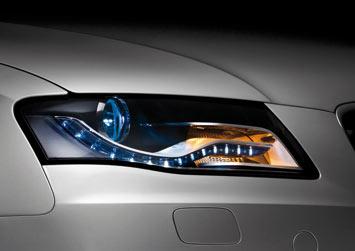 介绍了如何在新兴的LED照明技术已影响到近期的奥迪车型的设计,成为一个重要的造型元素,以及如何LED将在未来改变未来汽车的照明理念