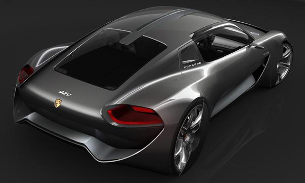 The Porsche 929 保时捷概念车 - 图2