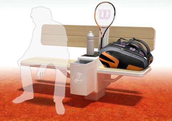Tennis Bench 网球长凳 - 图4