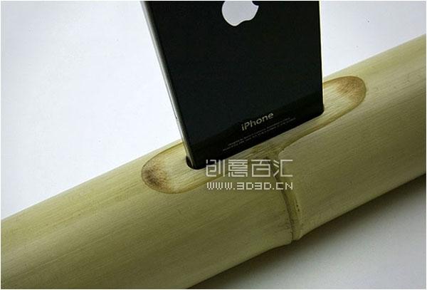 iBamboo speaker 竹子音乐底座 - 图8