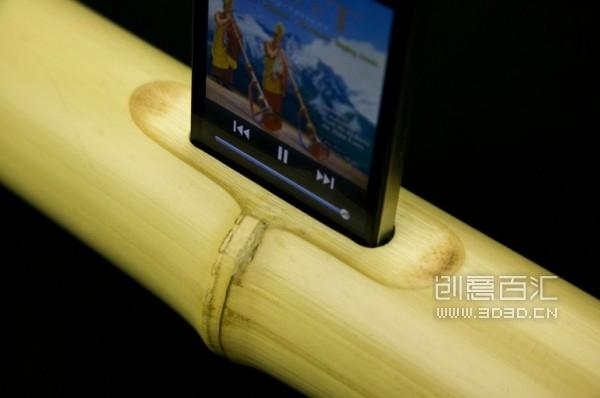 iBamboo speaker 竹子音乐底座 - 图6