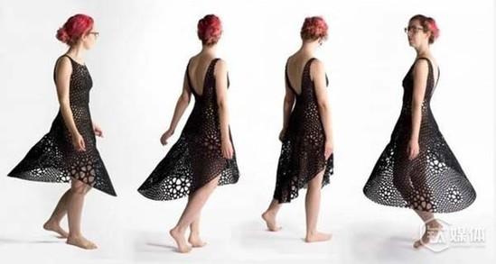 """管4D打印技术出现的时间还非常短,但这并不影响它的发展。这不,美国麻省科技设计公司""""Nervous System""""近日研发出一种利用4D打印技术,制造弹性贴身布料,并打印出了全球第一件""""4D裙"""""""