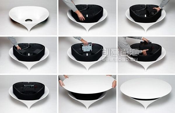 Acoustable 音乐咖啡桌 - 图6